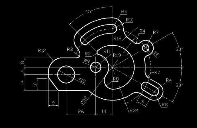 机械制图零件施工图免费下载