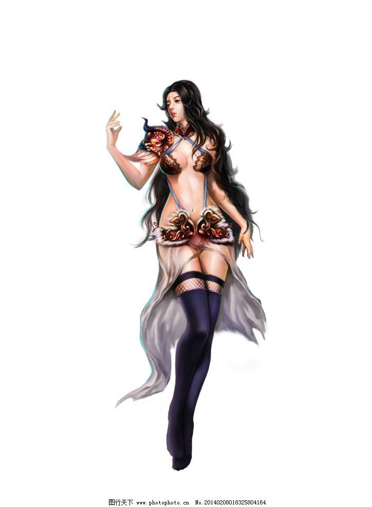 游戏原画 游戏 原画 人设 网游 页游 游戏美女 舞女 仙侠 动漫人物