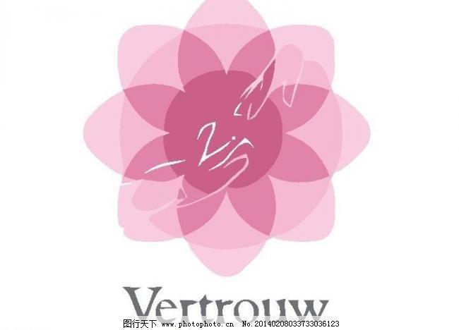 花卉logo矢量素材 花卉logo模板下载 花卉logo 花卉 花蕾 花芯 花朵