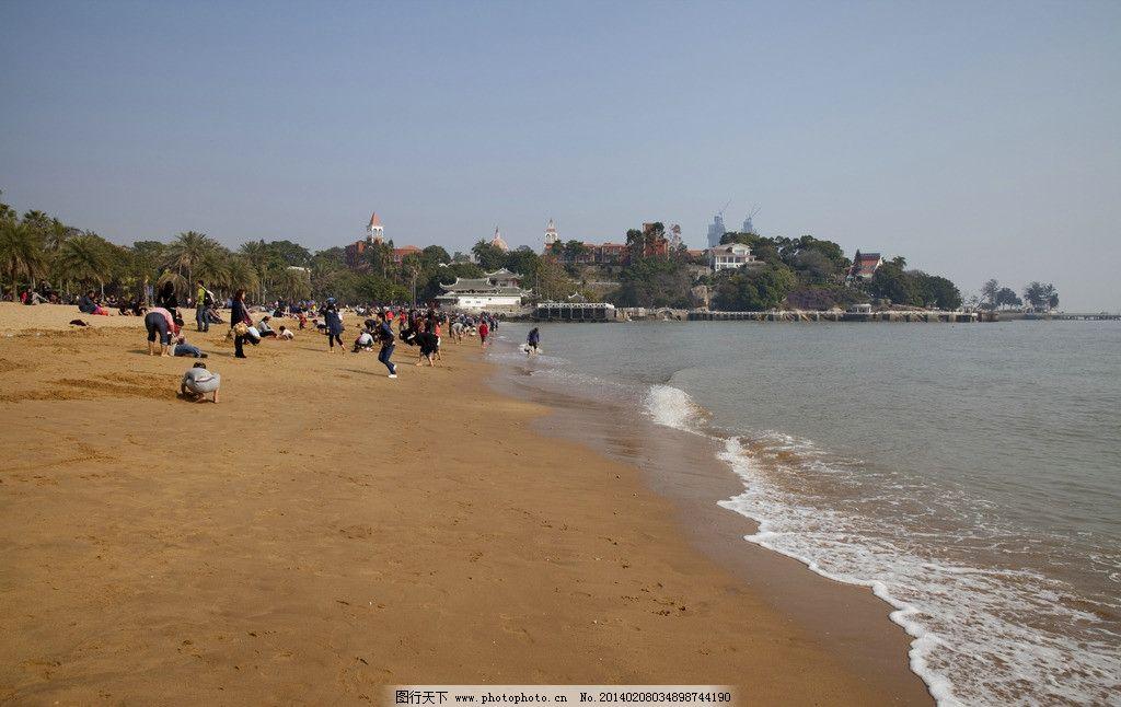 沙滩 海滩 海洋 海滨 海水 阳光 海岛 自然风景 自然景观 摄影 240dpi