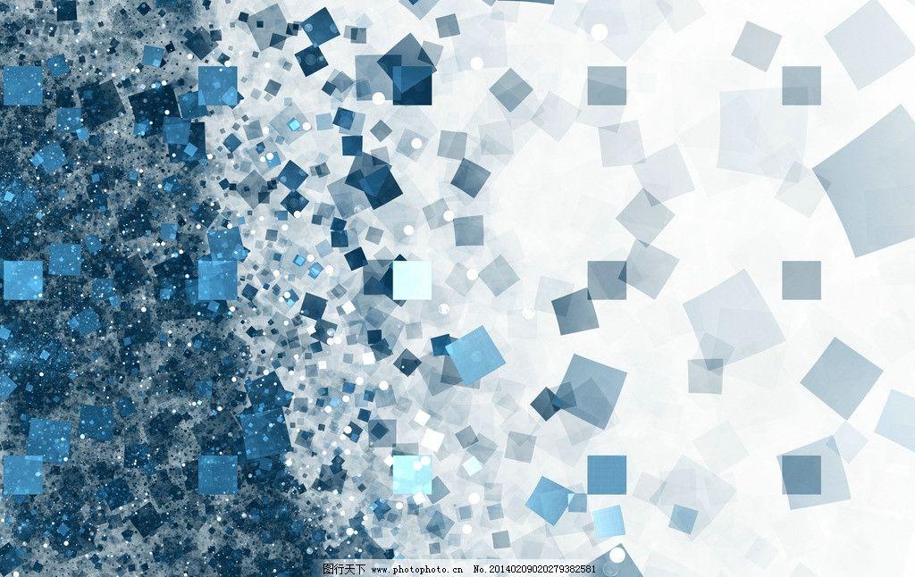 科技背景 光线 蓝色 动感方块 广告设计 背景底纹 底纹边框 设计 300d