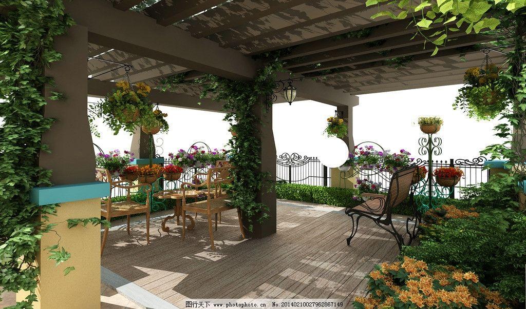 屋顶花园设计 次卫生间 室内 设计 方案 简约 室内设计 环境设计 72