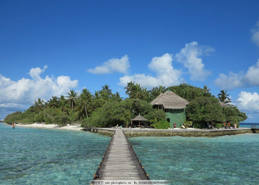 马尔代夫小岛图片