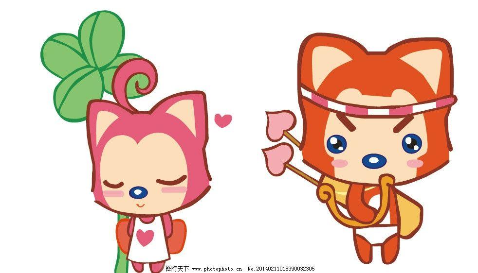 阿狸 阿狸猫 卡通 红色阿狸 可爱动物 可爱 儿童 女童装 男童装 儿童