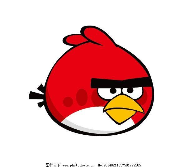 愤怒的小鸟 小鸟 鸟 卡通鸟 卡通画 服装印花 儿童印花 儿童图集 卡通