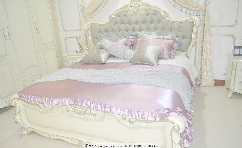 欧式家具 欧式套床图片