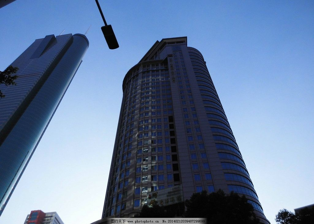 帝王大厦 蓝天 大楼 高楼 楼层 建筑 繁荣城市 深圳市 摄影建筑 建筑