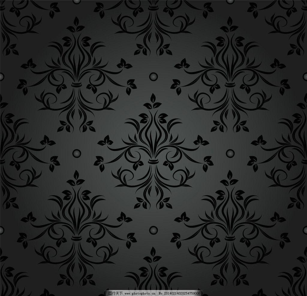 欧式花纹背景 欧式花纹 欧式 花纹 手绘 复古 线条 建筑装饰花纹 植物