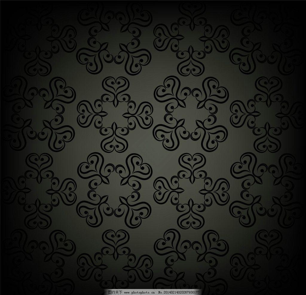 欧式花纹背景 欧式花纹