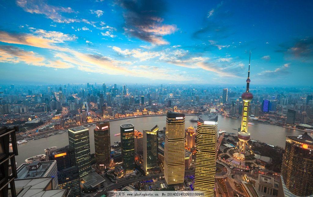 上海陆家嘴地标建筑物