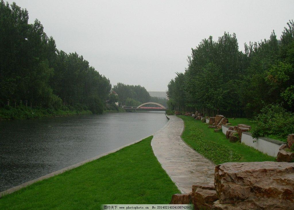 公园 风景 小河 树木 花草 河边 绿茵廊道 自然风景 旅游摄影 摄影 30