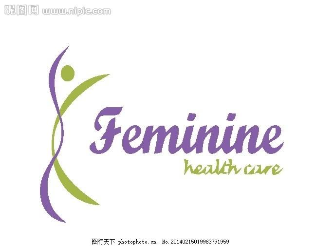 设计图库 标志图标 企业logo标志  女性logo 美容 女人 女性 外国