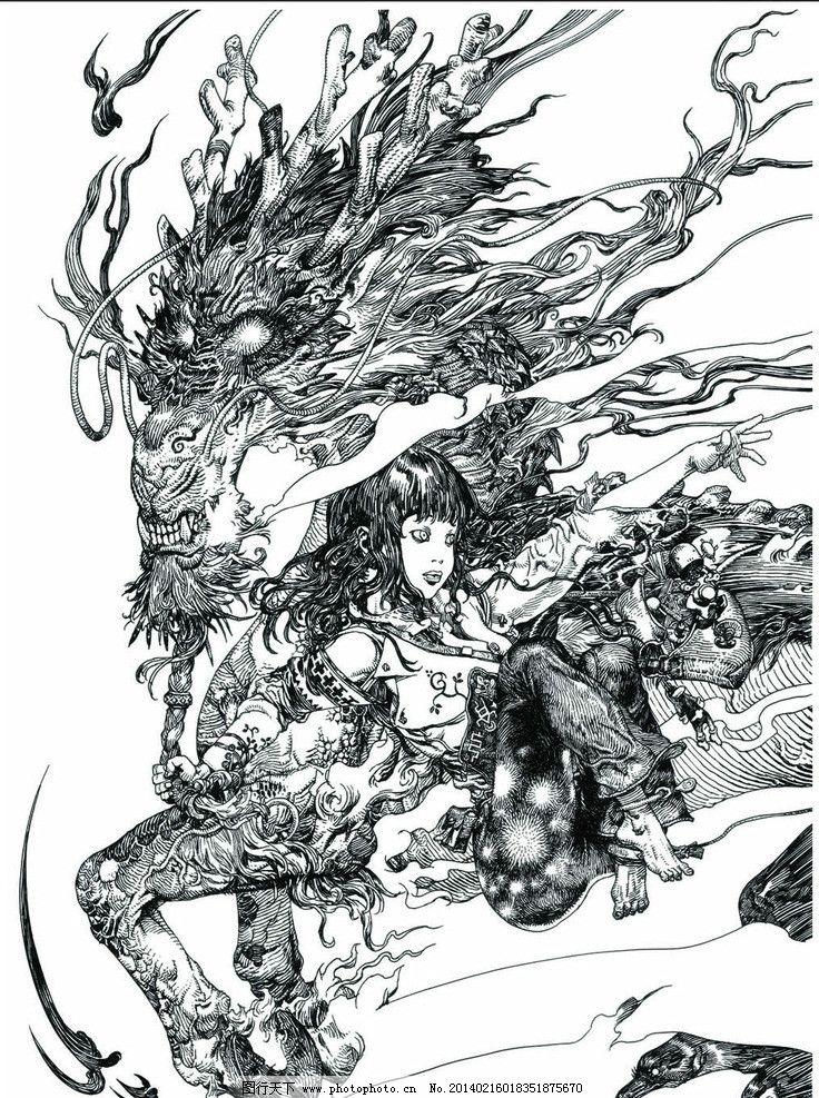 寺田克也线稿精选 寺田克也 线稿 精选 概念设计 亚洲大师 动漫人物