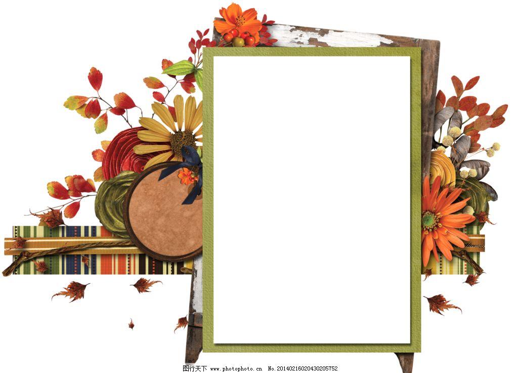 创意相框 个性相框 花卉边框 方形相框 花纹相框 底纹边框 创意 欧式