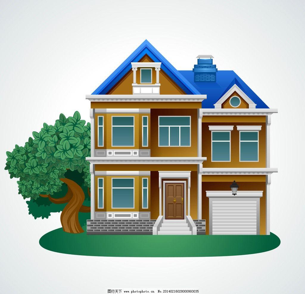 別墅模型圖片