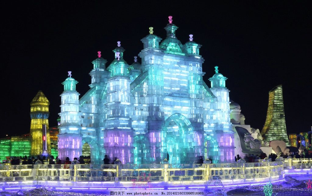 葫芦岛冰灯2018