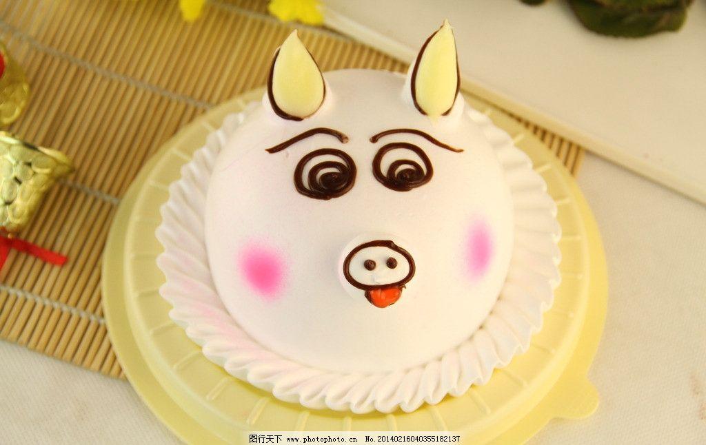 可爱小猪美食图片
