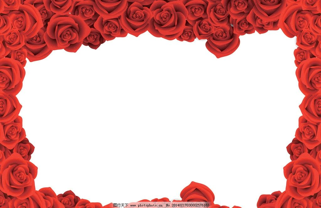 手绘 红玫瑰 花朵 花卉 贺卡 邀请 请柬 卡片 花草背景 玫瑰花素材