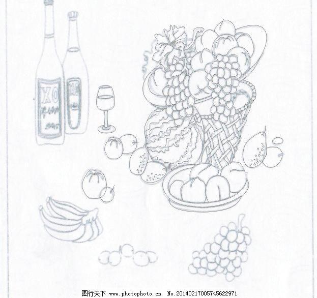 水果图片免费下载 cdr 底纹背景 底纹边框 瓜果 环保 柠檬 拼盘 石榴