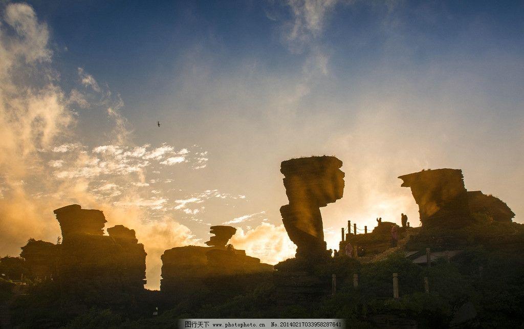 梵净山蘑菇石 避暑名山 三山谷 贵州 铜仁 国内旅游 旅游摄影