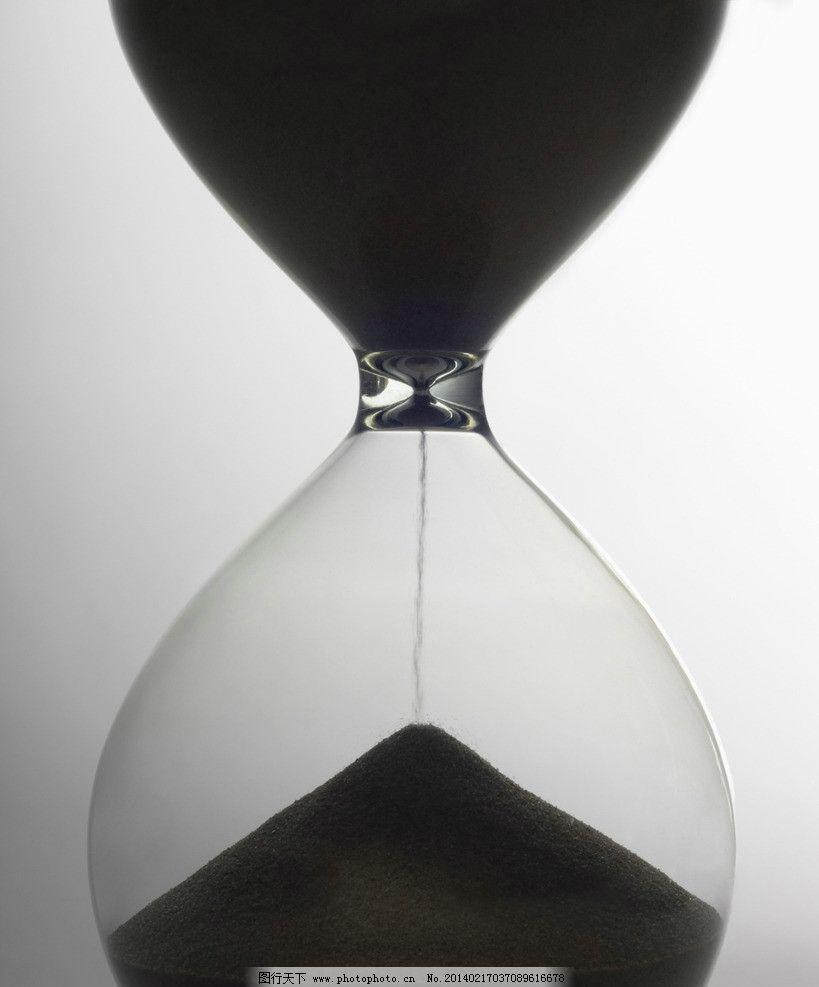 沙漏 透明 玻璃 沙子 时间 流逝 生活素材 摄影