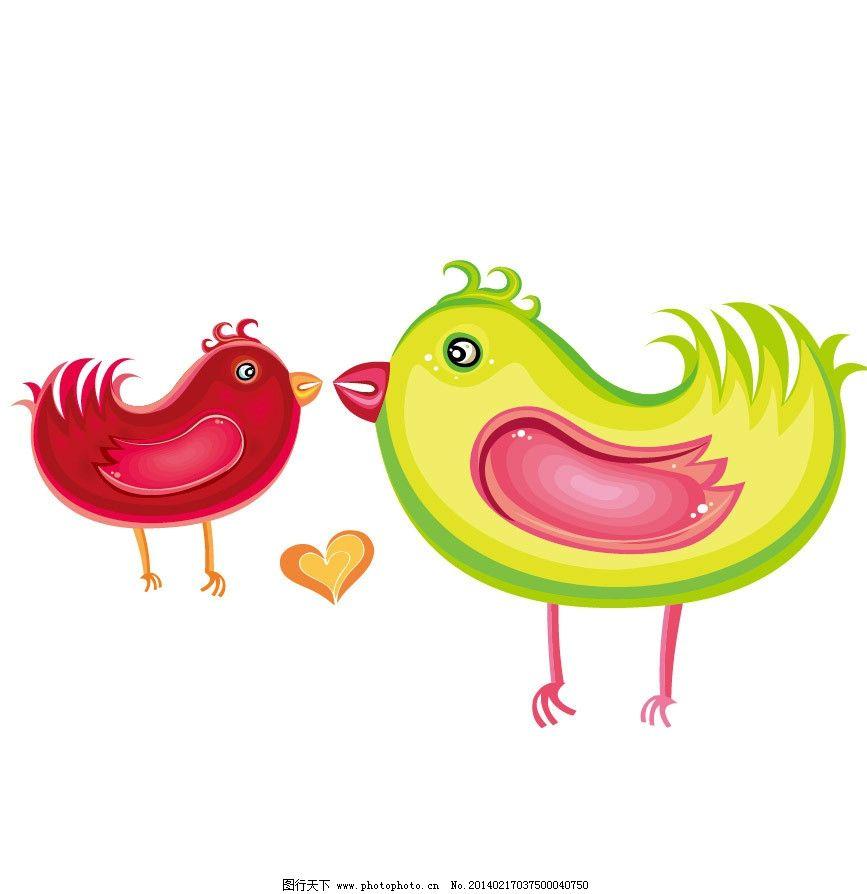 鸡 母鸡 卡通家畜 印花 儿童印花 图案 图形设计 图案设计 可爱卡通