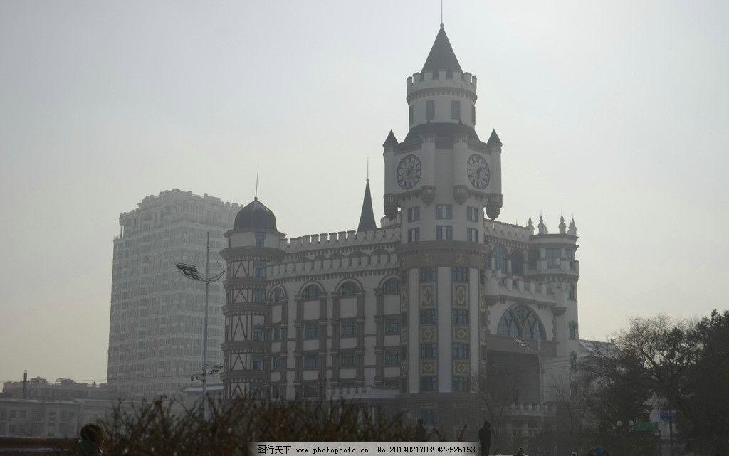 哈尔滨建筑 哈尔滨 建筑 钟楼 冰雪大世界 城市 俄罗斯建筑 建筑摄影