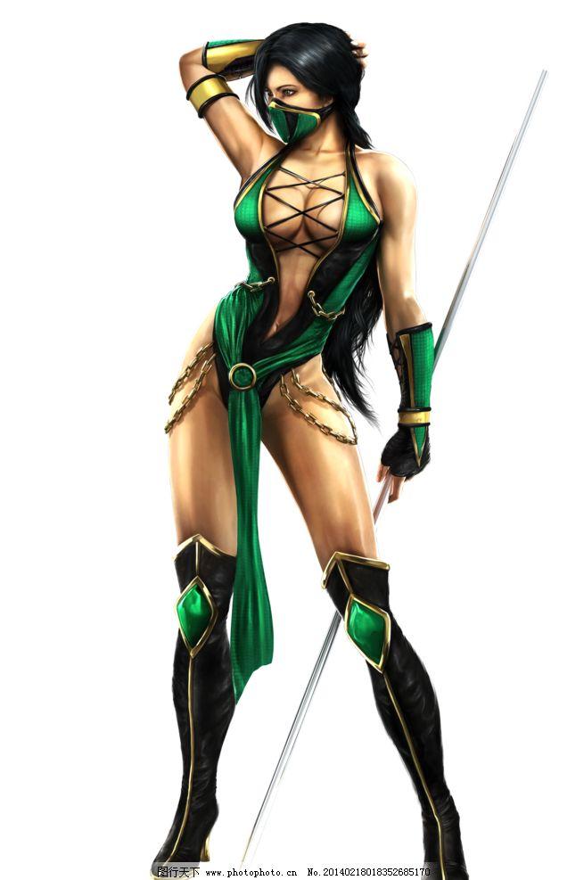 动漫美女 游戏 美女 游戏美女 性感 古典 魔女 长发 长腿 动漫人物
