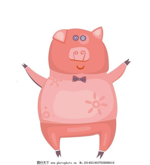 小猪很可爱类的照片