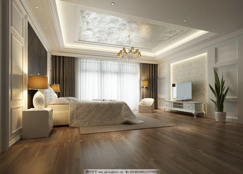 永恒经典白色卧室 永恒 经典 白色      欧式 简欧卧室 背景墙 室内图片