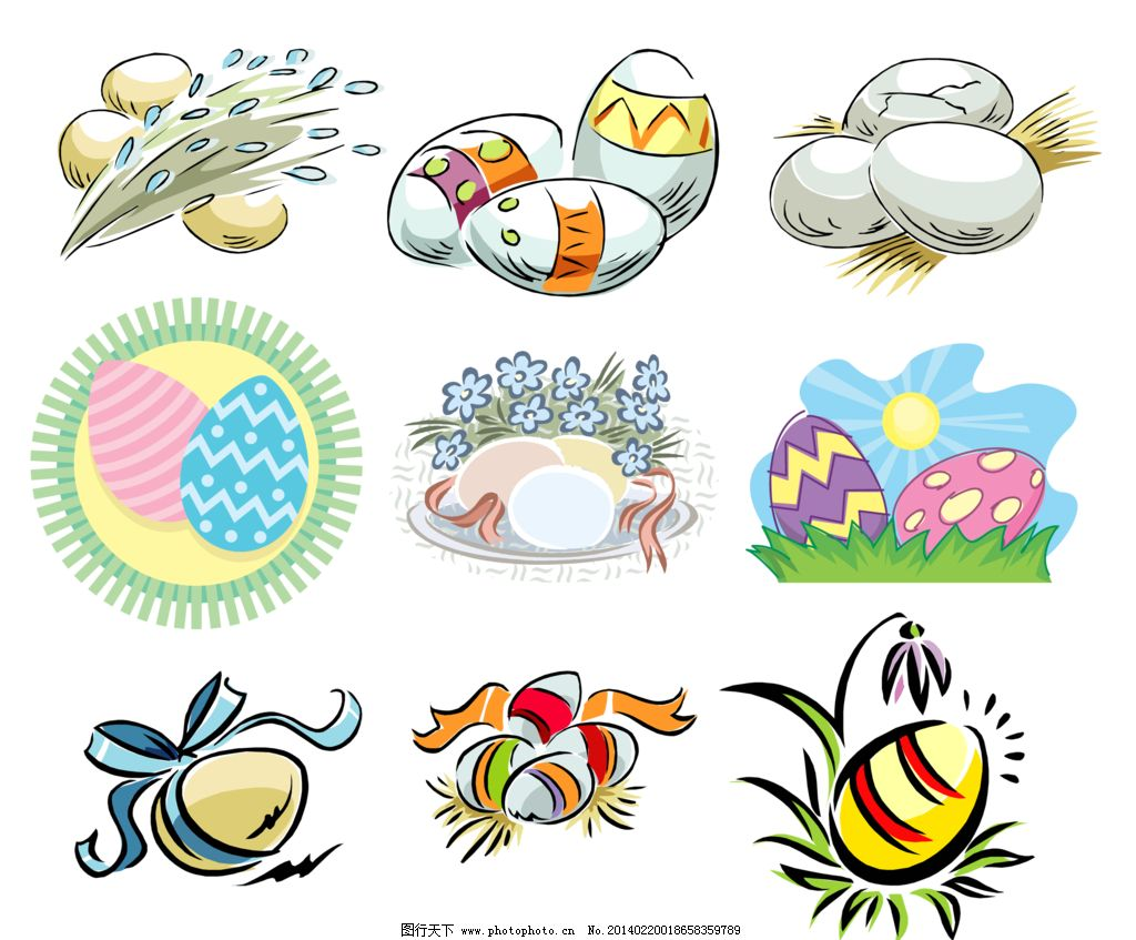 彩蛋简单画法步骤