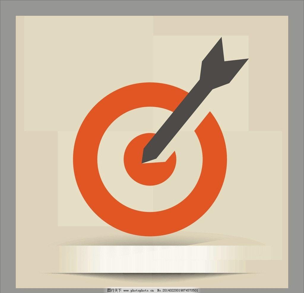 箭头图片,圆圈 背景 标识标志图标 矢量-图行天下图库