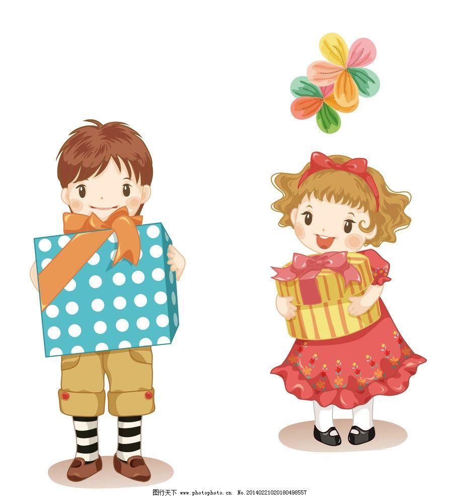 送禮物 卡通 兒童 t恤印花 兒童印花 印花 服裝印花 圖案 圖形設計