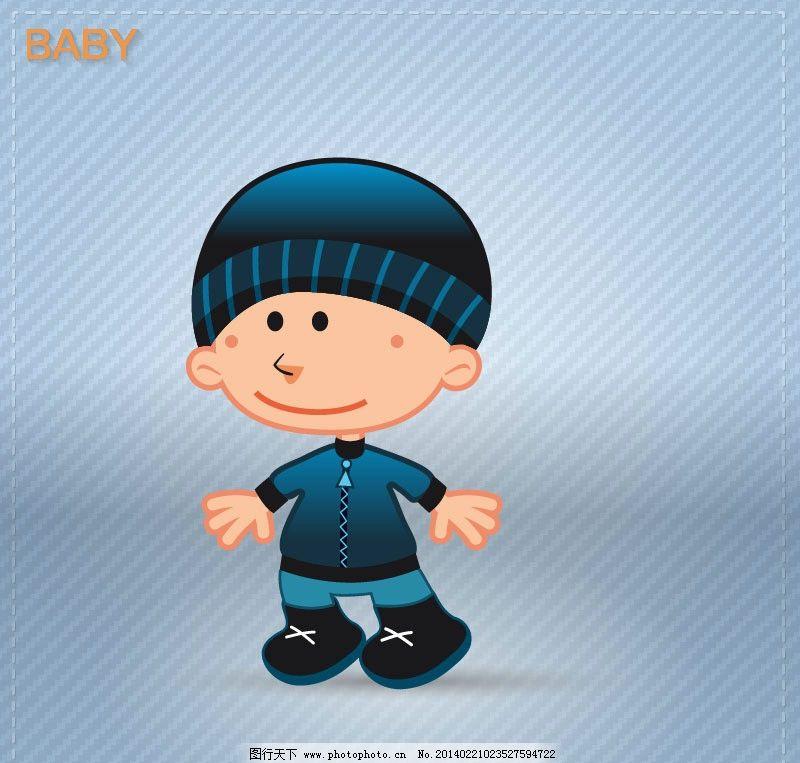 小男孩 可爱 小女孩 小屁孩 卡通 卡通人物 卡通男孩 卡通小男孩 矢