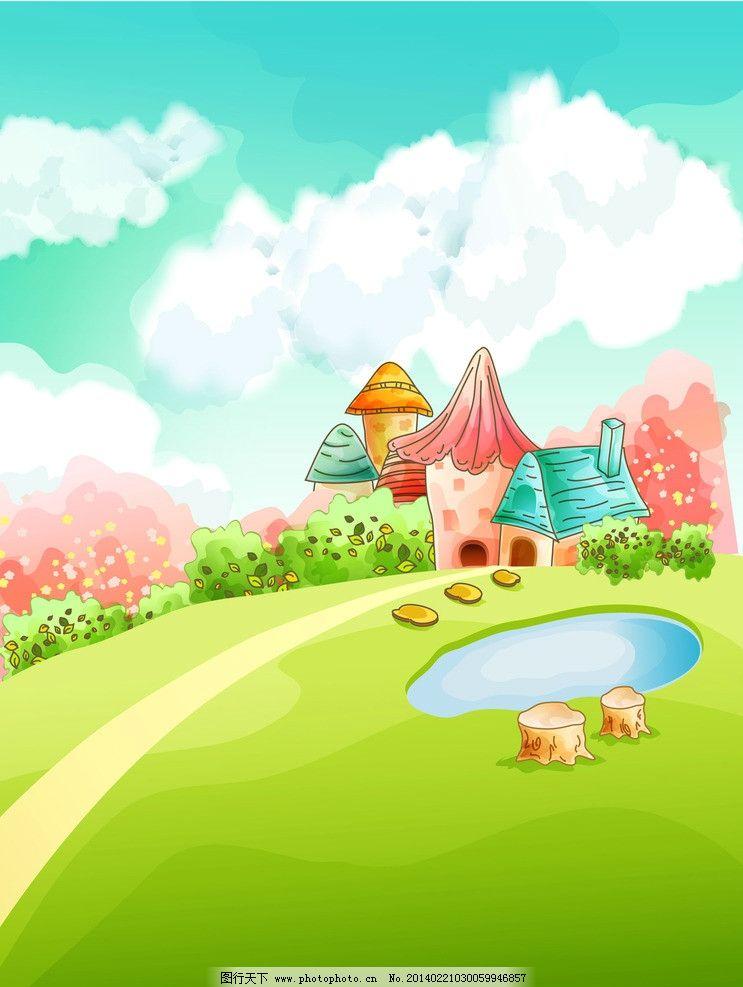 幼儿园动物栅栏图片卡通