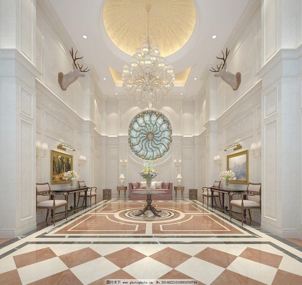 大厅 大厅设计 大厅效果图 酒店 酒店大厅 酒店大厅效果图 电梯大堂