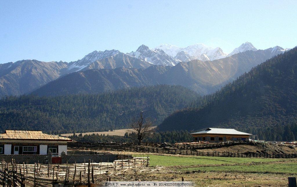 藏南林芝 藏南林芝春光 西藏 雅鲁藏布江 喜马拉雅 南部 青藏高原