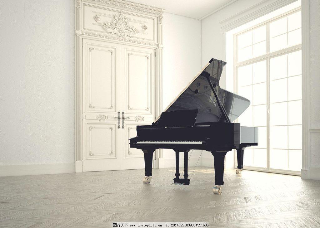 钢琴 欧式建筑 客厅 装修 装饰 装潢 家具 家居 西餐 豪华