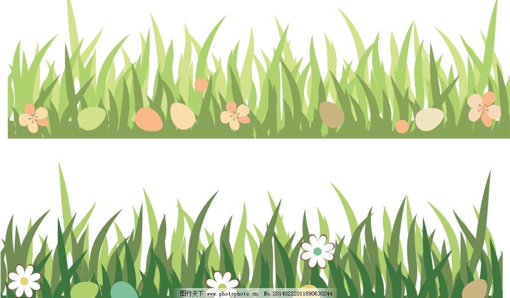 草丛的简笔画步骤