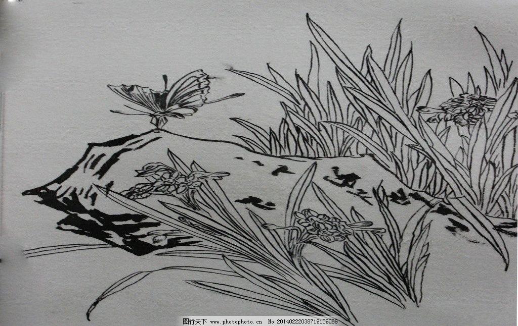 国画 简笔画 手绘 素描 线稿 1024_646