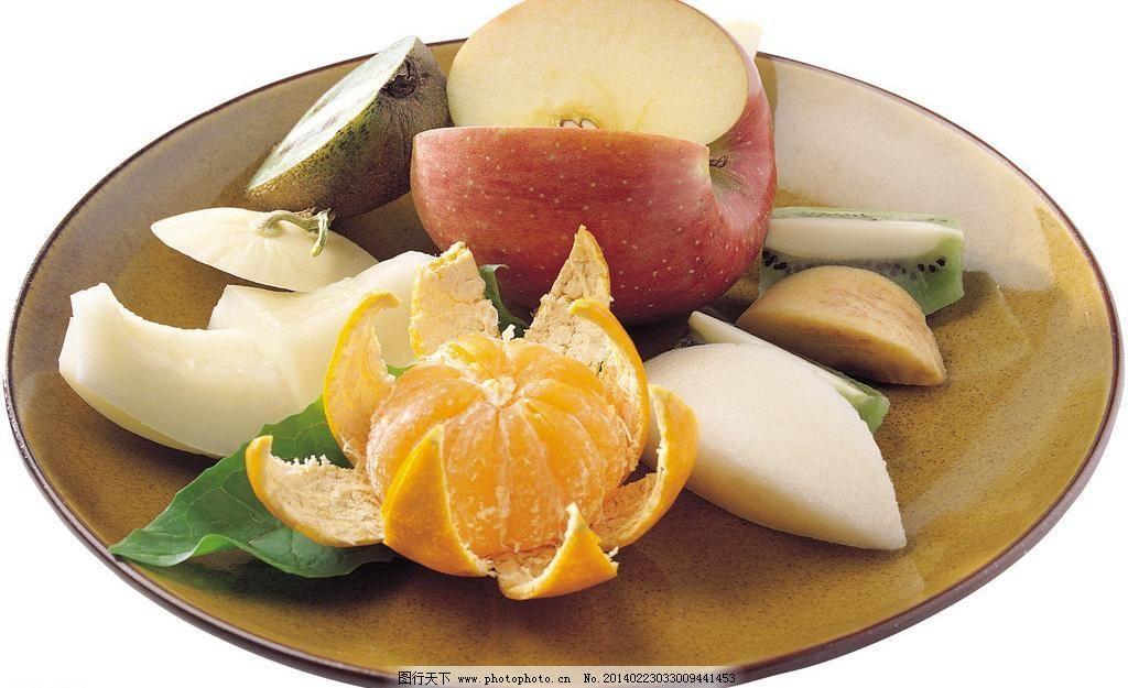 进口水果 橘子 美味 猕猴桃 果盘素材下载 果盘模板下载 果盘 苹果