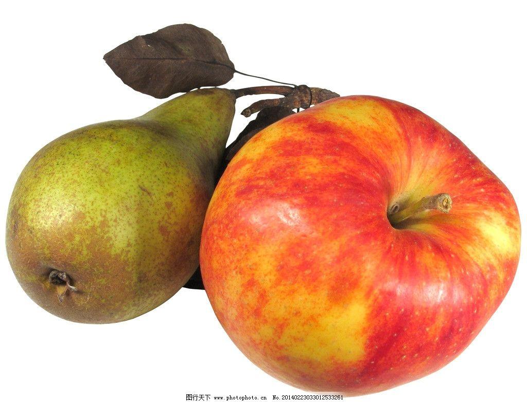 苹果 红苹果 梨子 葫芦梨子 梨 创意水果 进口水果 水果静物 水果