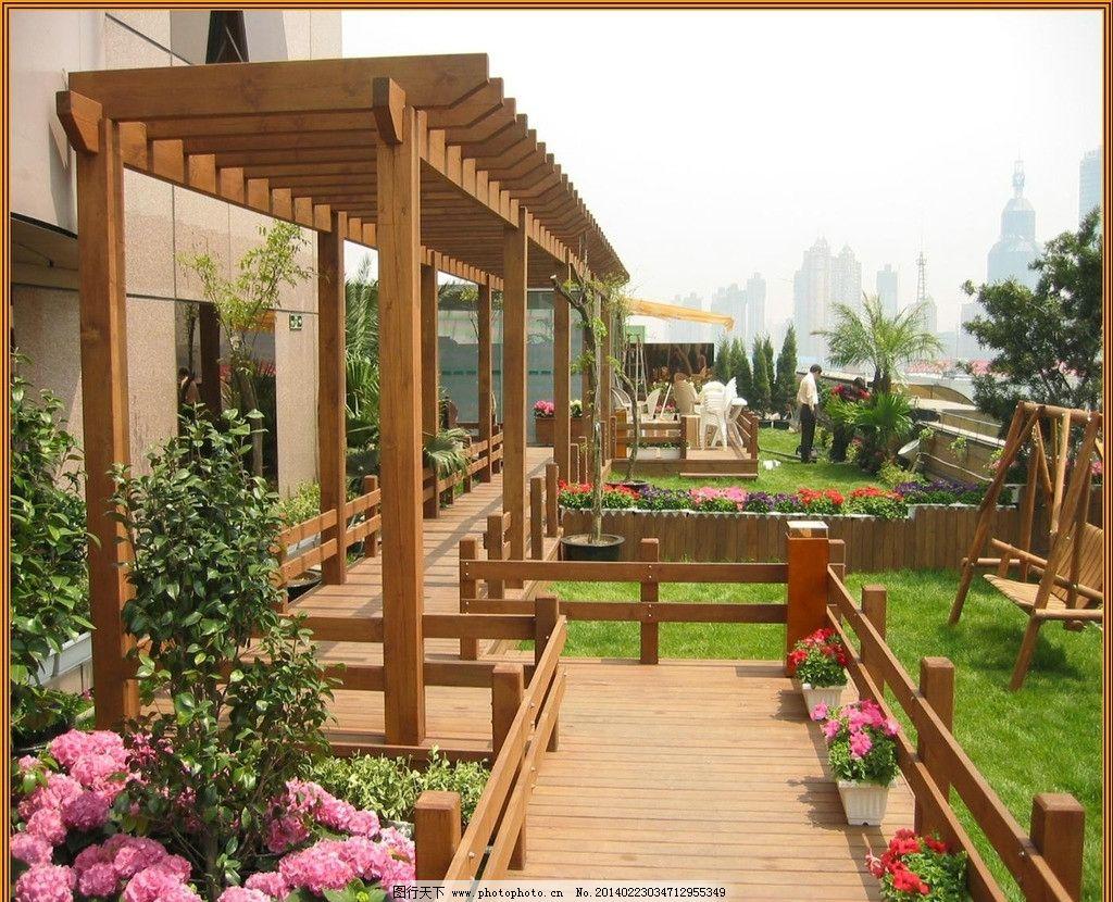 私家庭院花园 花园 私家庭院 私家花园 私家庭院景观 花架 建筑景观