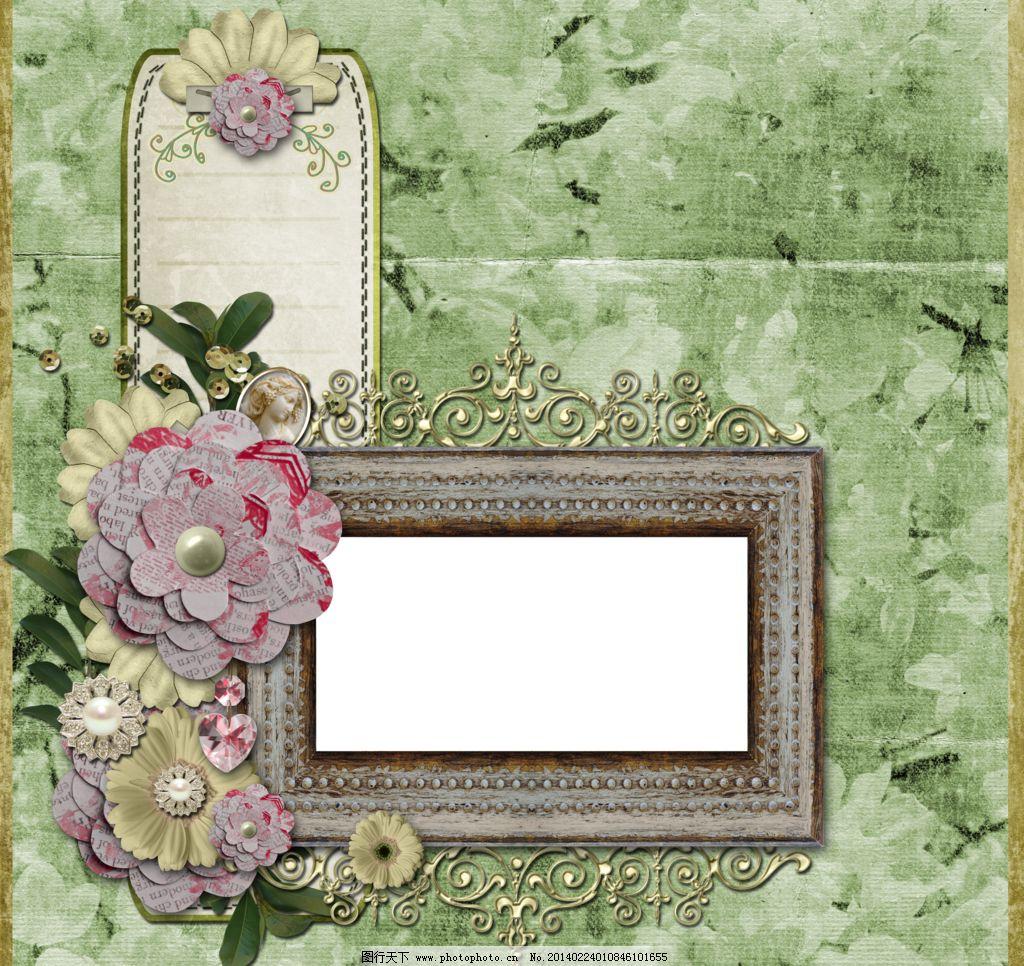 底纹边框 高清 花边花纹图片
