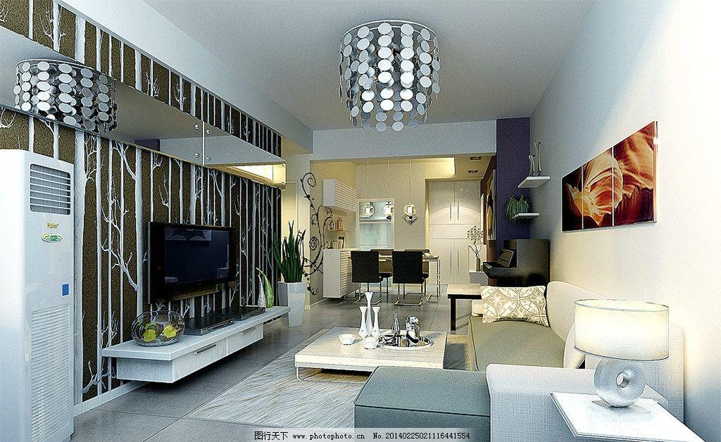家装 欧式 沙发 茶几 现代 吊顶 现代室内设计效果图 3d作品 3d设计