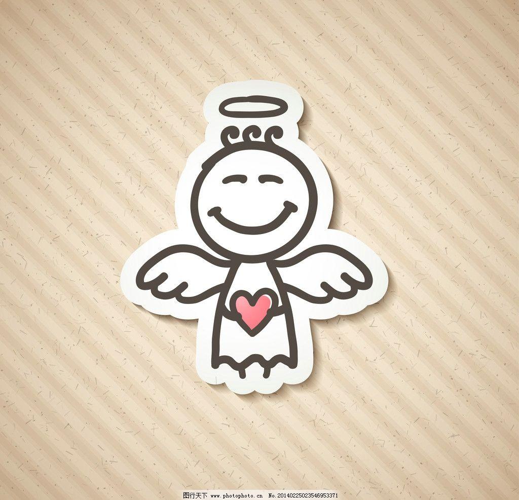 卡通天使宝宝 卡通形象 可爱天使 卡通天使 天使 宝宝 幼儿园 卡通