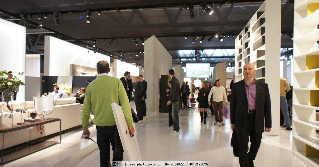 外国展会 国外展会 米兰家具展 外国人 设计师 室内摄影 国外旅游