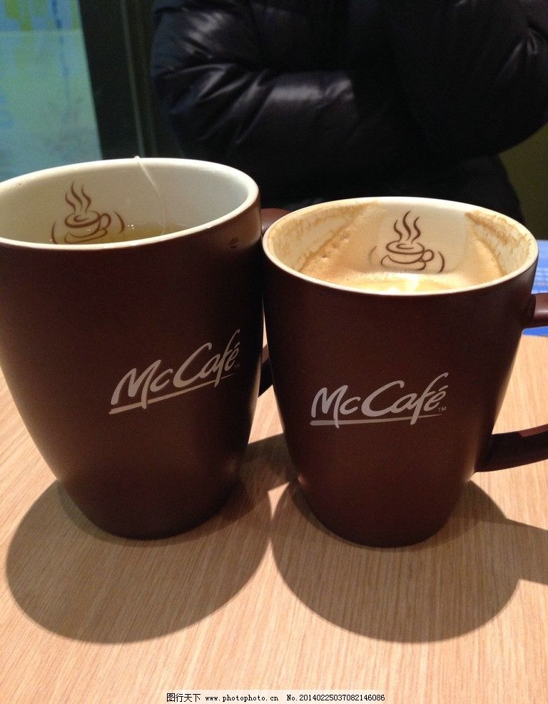麦当劳咖啡杯子_咖啡杯 茶杯 麦当劳 商场 卖场 水杯 生活素材 饮品 静物 特写