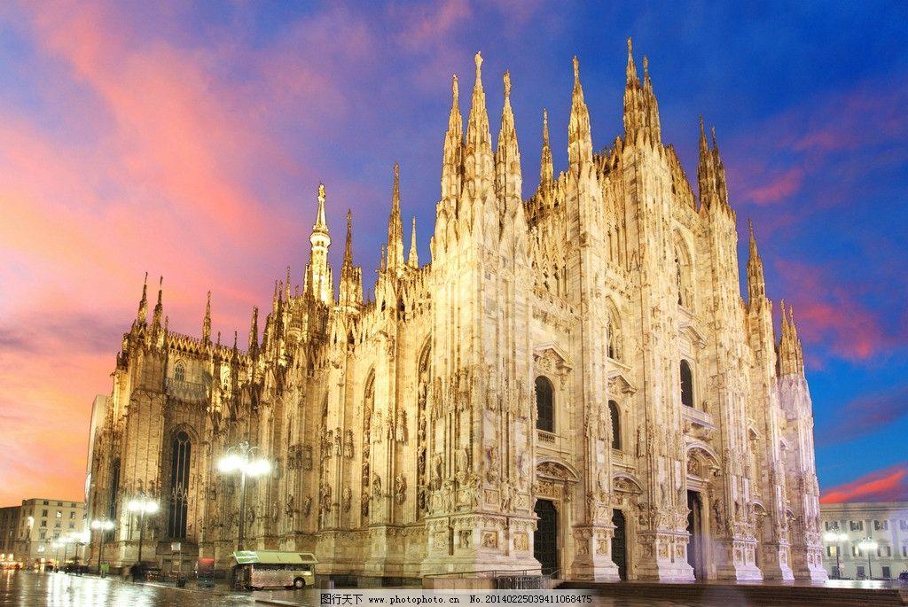 大教堂 米兰建筑 米兰 意大利风光 意大利小镇 米兰小镇 米兰风景