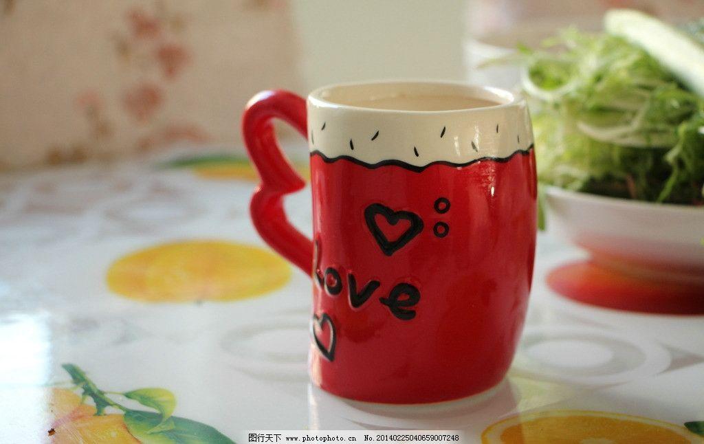 水杯 杯子 餐饮 陶瓷 可爱杯子 摄影